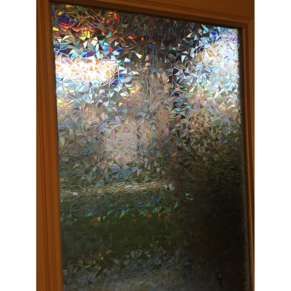 """Iridescent Glass"" Window Film-Decorhomium"