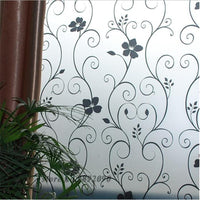 """Iron Flower"" Window Film-Decorhomium"