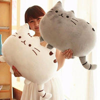 Kawaii Pusheen Cat Pillow-Decorhomium