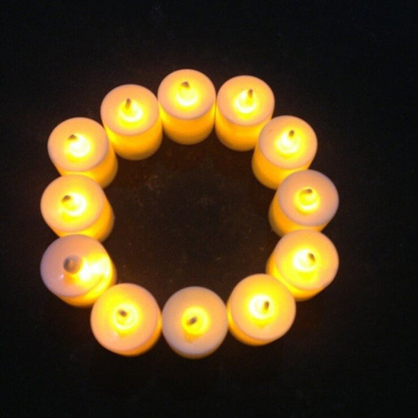 """LED Candles"" 12pc-Decorhomium"