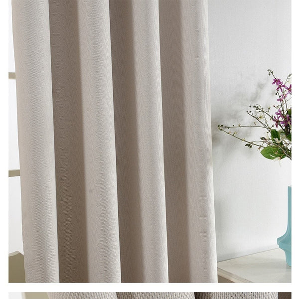 """Plain"" Curtain-Decorhomium"