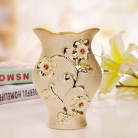 Porcelain Flower Ceramic Vase-Decorhomium