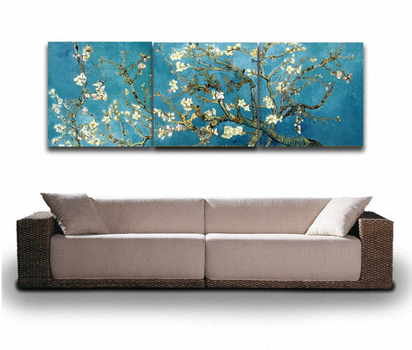 """Blossoming Almond"" Canvas Painting"