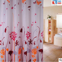 """Wildflowers"" Shower Curtain"