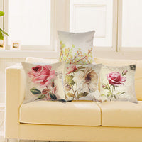 """Beautiful Flowers"" Pillow Case Cover"