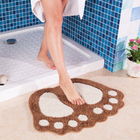 """Footprints"" Bath Mat"