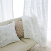 """Puff"" Tulle Curtain"