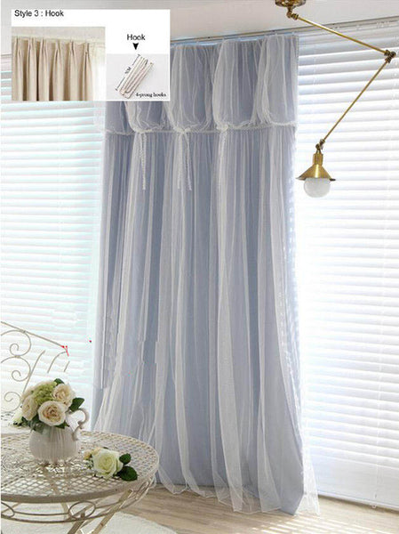 """Ivory"" Curtains"