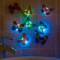 """Luminous Butterfly"" Night Lamp"