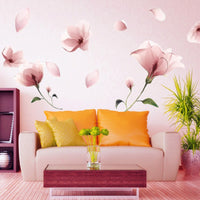 """Frosted Flower"" Wall Sticker"