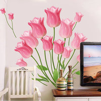 """Tulip Flowers"" Wall Sticker"