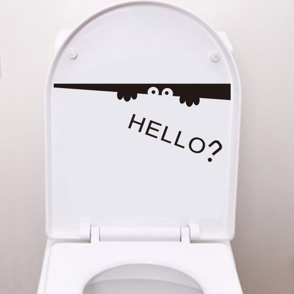 """Smile"" for Toilet Tank Sticker-Decorhomium"
