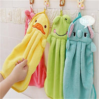 Super Soft Coral Fleece Kid Towel-Decorhomium