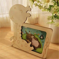 White Base Wood Picture Frame-Decorhomium