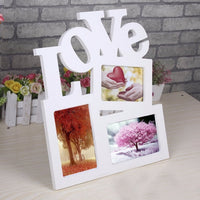Wooden Family Photo Picture Frame-Decorhomium