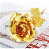 24K Gold Plated Rose, Romantic Flower - AmazinTrends.com