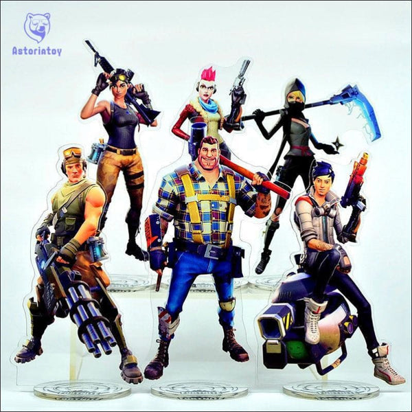 28 Styles 21cm Fortnight Battle Royale Action Figure Toy Collection - AmazinTrends.com