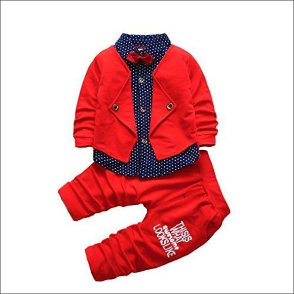 2pcs Baby Boy Formal Suits - AmazinTrends.com