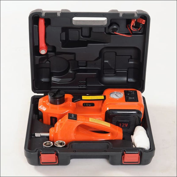3-Function Emergency Auto Electric Hydraulic Jack - AmazinTrends.com