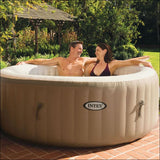 4-Person Inflatable Bubble Jet Spa - AmazinTrends.com