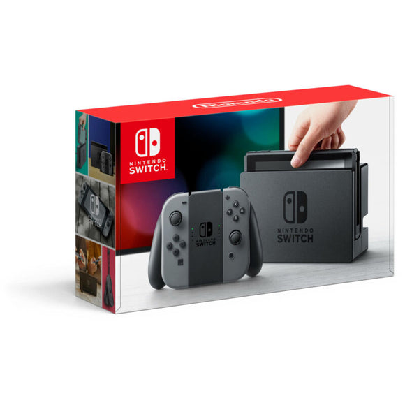 Nintendo HACSKAAAA Switch with Gray Joy-Con - AmazinTrends.com