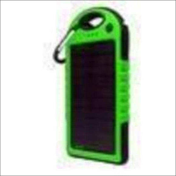 5,000mAh Water-Resistant Solar Smartphone Charger - AmazinTrends.com