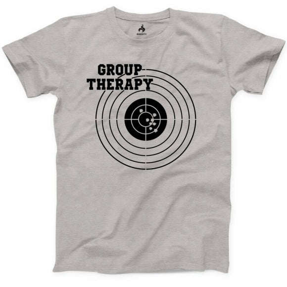 Group Therapy Shooting T Shirt Funny Gun Laws Rights American 2nd Amendment Tee - AmazinTrends.com