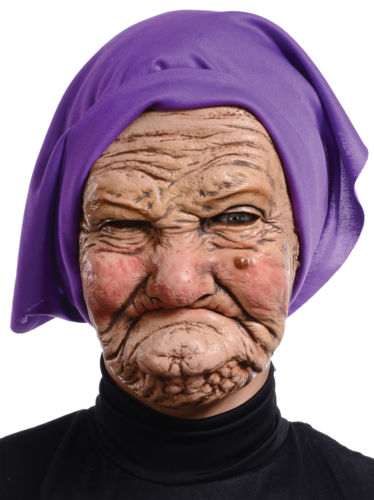 Granny Latex Mask by Mario Chiodo - AmazinTrends.com