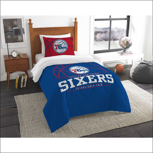 76ers OFFICIAL National Basketball Association, Bedding Set - AmazinTrends.com