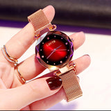 Luxury Diamond Ladies Starry Sky Magnet Watch⌚️ - AmazinTrends.com