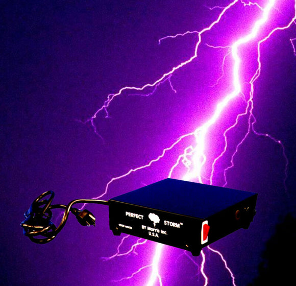 DJ Special Effects, PERFECT STORM, Thunder Sounds, Lights, Controller, Halloween Prop - AmazinTrends.com