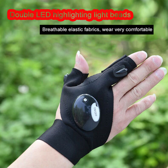 LED Flashlight Gloves ✋ - AmazinTrends.com
