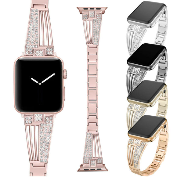 Bling Rhinestones Strap for iWatch Apple Watch - AmazinTrends.com