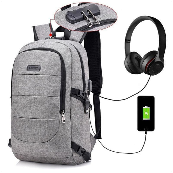 Anti Theft & Password Protected Backpack - AmazinTrends.com