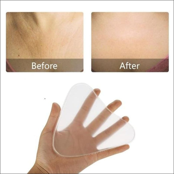 ANTI-WRINKLE SILICONE CHEST PADS - AmazinTrends.com