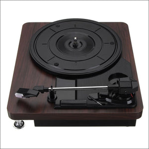 Antique Gramophone Record Player, Turntable Disc, - AmazinTrends.com