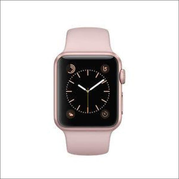 Apple Watch Series 1 38mm Aluminum, Case Pink Sand, Sport Band MNNH2LL/A - AmazinTrends.com
