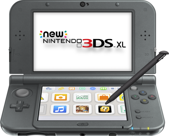 New Nintendo 3DS XL (New Black) - REFURBISHED BY NINTENDO - Warranty Included - AmazinTrends.com