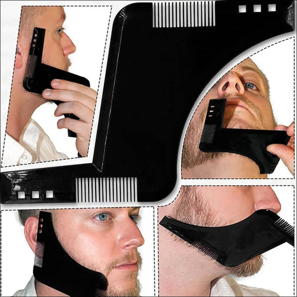 Beard Shaping Styling Template - AmazinTrends.com