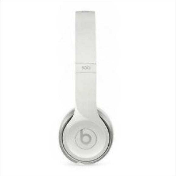 Beats by Dr. Dre Solo2 WIRED Headband Headphones - White - AmazinTrends.com