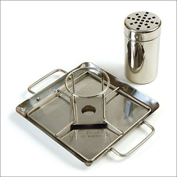 Beer-Can Chicken Roaster Rack, 1 PACK Stainless - AmazinTrends.com