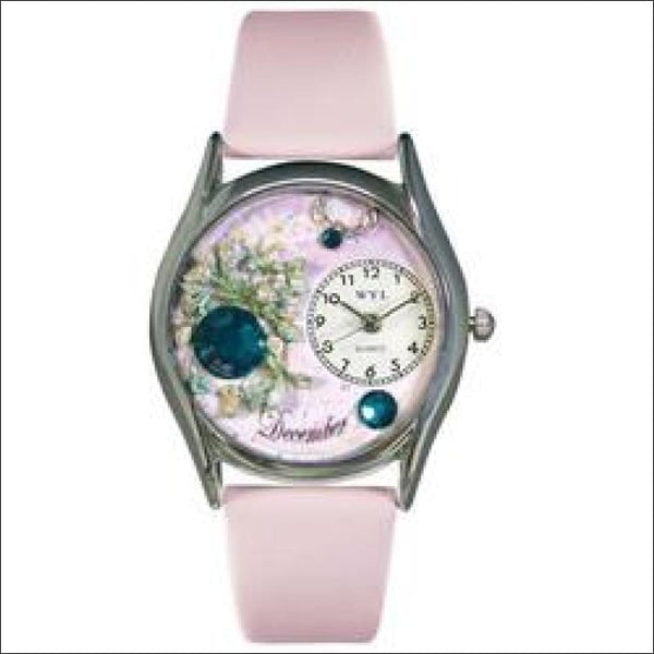 Birthstone Jewelry: December Birthstone Watch Small Silver Style - AmazinTrends.com