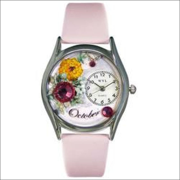Birthstone Jewelry: October Birthstone Watch Small Silver Style - AmazinTrends.com