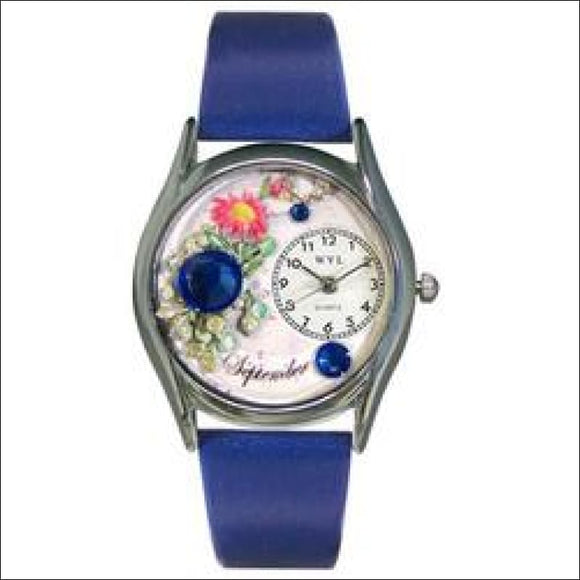 Birthstone Jewelry: September Birthstone Watch Small Silver Style - AmazinTrends.com
