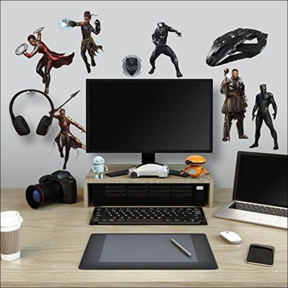 Black Panther Characters Peel and Stick Wall Decals - AmazinTrends.com