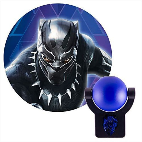 Black Panther, LED Plug-in Night Light Collector's Edition Projector - AmazinTrends.com
