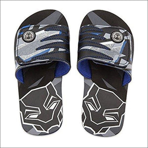 Black Panther Shop Disney Marvel Sandals for Kids - Flip Flops Beach Water Shoes (13/1) - AmazinTrends.com