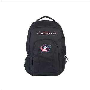 "Blue Jackets OFFICIAL National Hockey League, """"Draft Day"""" 18""""H x 10"""" (12"""" Back) Backpack  by The Northwest Company - AmazinTrends.com"