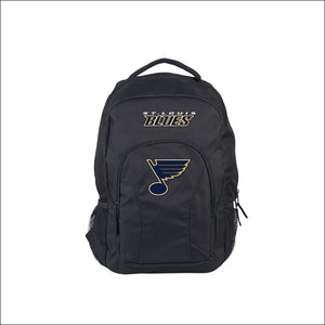 "Blues OFFICIAL National Hockey League, """"Draft Day"""" 18""""H x 10"""" (12"""" Back) Backpack  by The Northwest Company - AmazinTrends.com"
