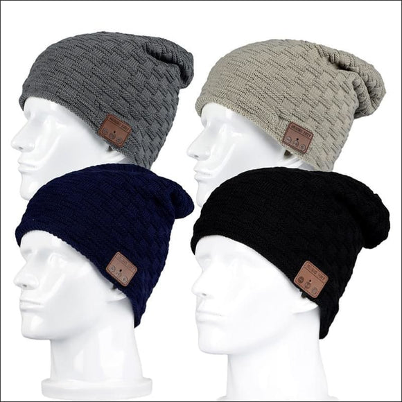 Bluetooth Equipped Beanie Hat - AmazinTrends.com